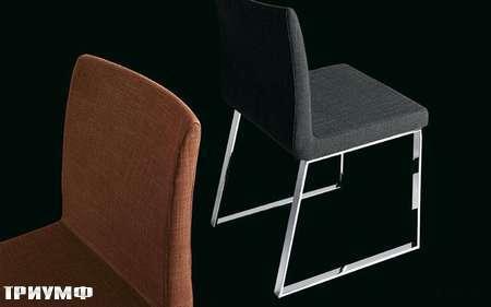 Итальянская мебель Presotto - стул Delta со съемным чехлом в ткани