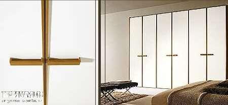 Шкаф Inside Profilo с распашными дверьми, с вертикальными ручками