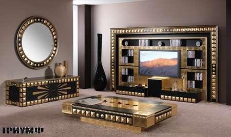 Итальянская мебель Vismara - стенка под тв piramid