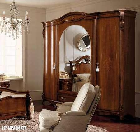 Итальянская мебель Grilli - Шкаф с арочным зеркалом