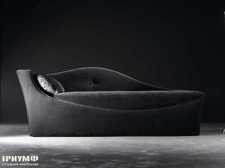 Итальянская мебель Noir Cattelan Italia - Кушетка Accademia