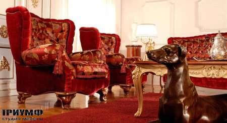 Итальянская мебель Zanaboni - Мягкая мебель коллекция Asia Bergere