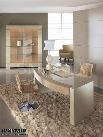 Итальянская мебель Smania - Стол письменный Chic Lac, последняя коллекция