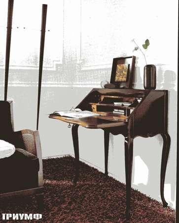 Итальянская мебель Flai - стол секретер крашенное дерево 373