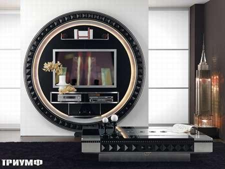 Итальянская мебель Vismara - стенка под тв stargate