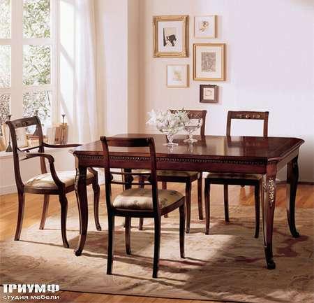 Итальянская мебель Medea - Стол прямоугольный раздвижной, классическая коллекция
