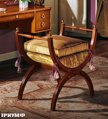 Итальянская мебель Colombo Mobili - Банкетка в неоклассическом стиле арт.256