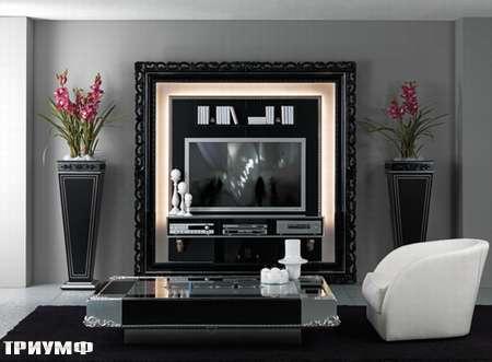 Итальянская мебель Vismara - стенка под тв the frame