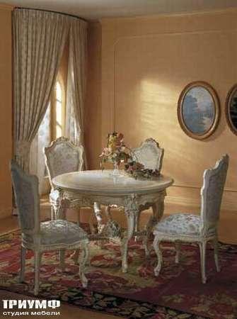 Итальянская мебель Silik - Стол круглый Dafne