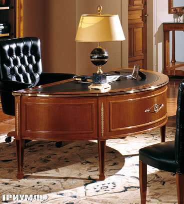 Итальянская мебель Colombo Mobili - Рабочий стол в имперском стиле арт 163 кол. Scarlatti